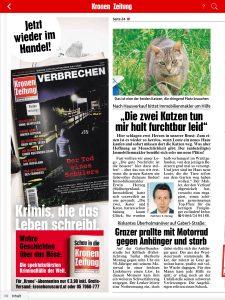 Kronen Zeitung Juli 2017